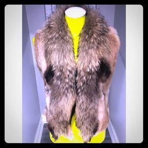 Just Cavalli FUR Vest MINT 🖤🖤🖤